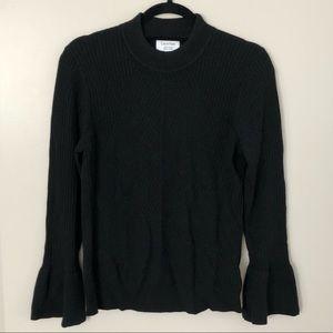 calvin klein sweater w/ bell sleeves
